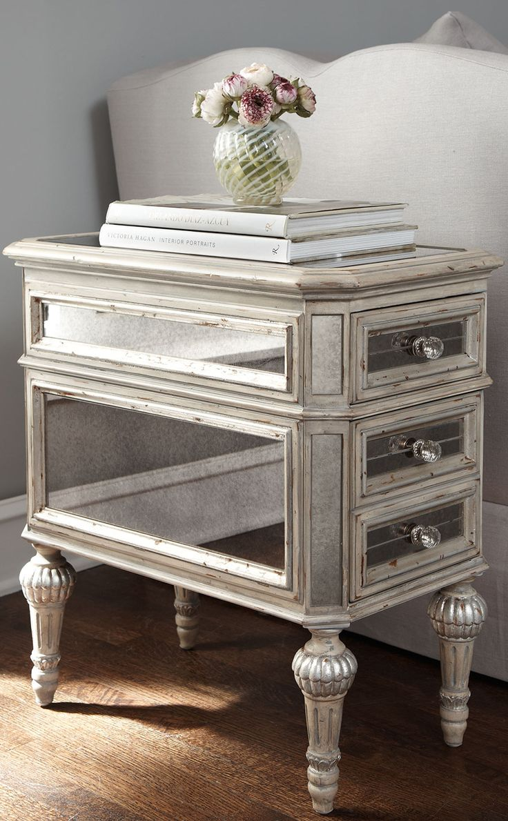 distressed mirrored furniture. \ Distressed Mirrored Furniture N