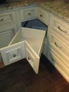 Instead of a lazy susan - love love love this