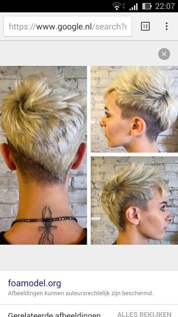 Asymmetrische under en side cut