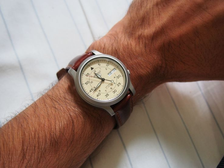 Image result for seiko snk809 white dial