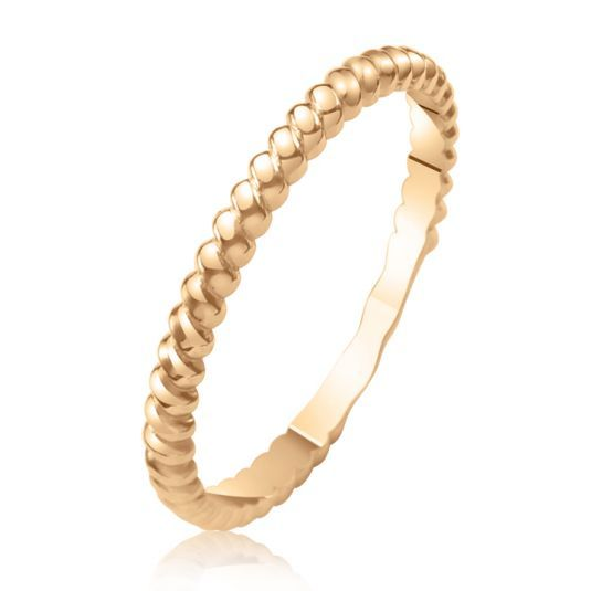 Кольцо на фалангу заплетенное элегантной французской косичкой из золота 585 пробы станет удачным элементом стиля, актуального в нынешнем сезоне. Средний вес колечка 1 грамм.