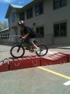 mobile mountain bike skills course