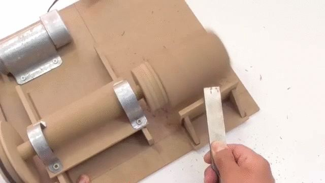 Construir mini torno casero para hacer copas de madera/mate - Taringa!