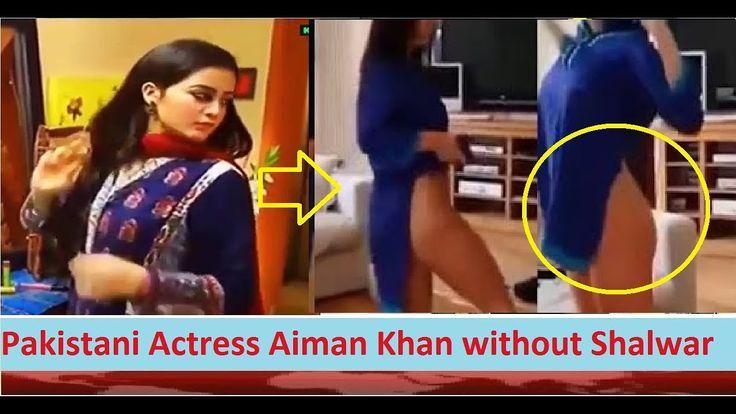Pakistani Actress Aiman Khan without Shalwar in Pak Drama? Must Watch Pa...
