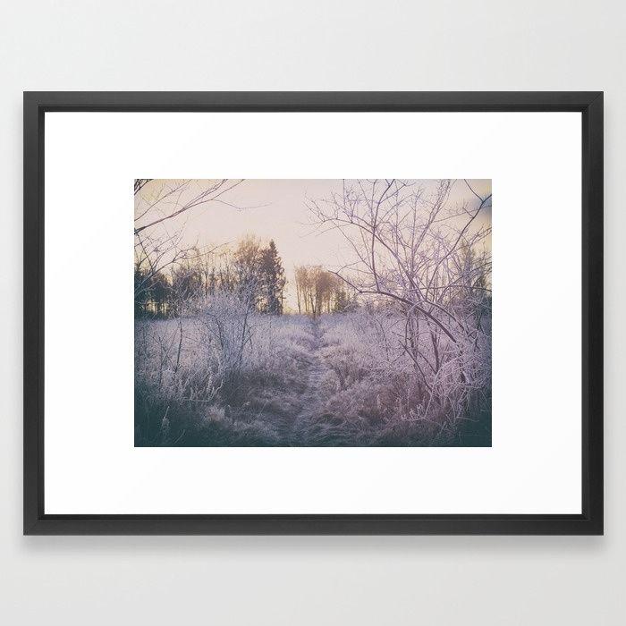 The Path Home Framed Art Print #photography #wallart #homedecor #artforsale #naturephotography