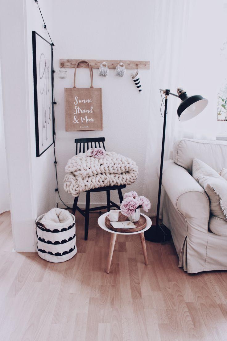 Wohnzimmer dekoration ein paar tipps zur wandgestaltung diy wohnen deko living room - Diy wandgestaltung ...