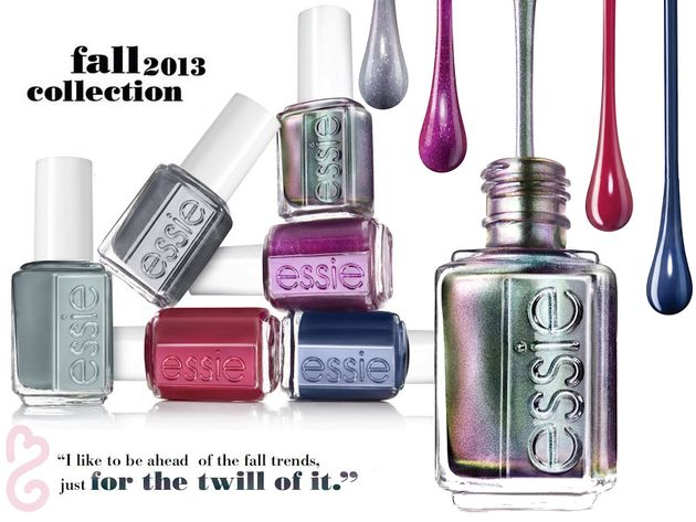 Essie Fall 2013: For the Twill of It Nail Polishes