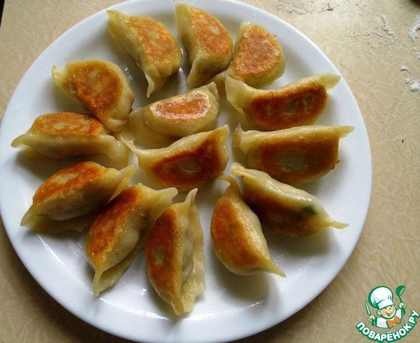 Китайские жареные пельмени