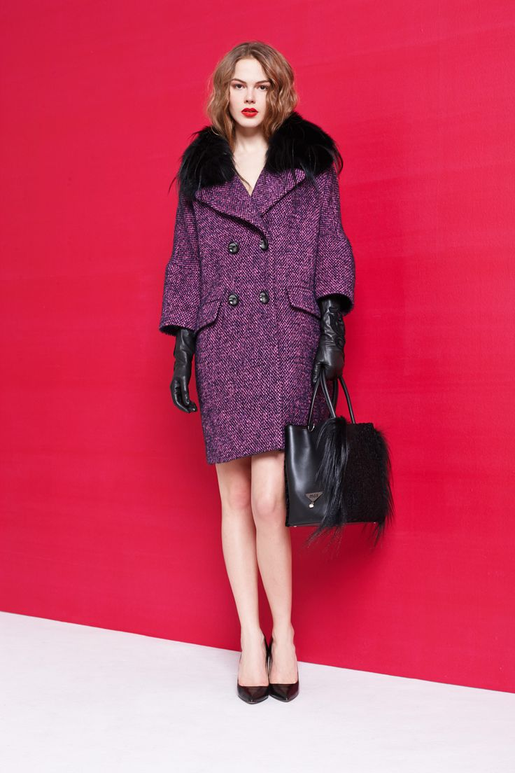 VIOLET STILE FOR THE WINTER TIME