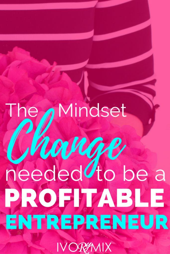 The Mindset of a Profitable Entrepreneur