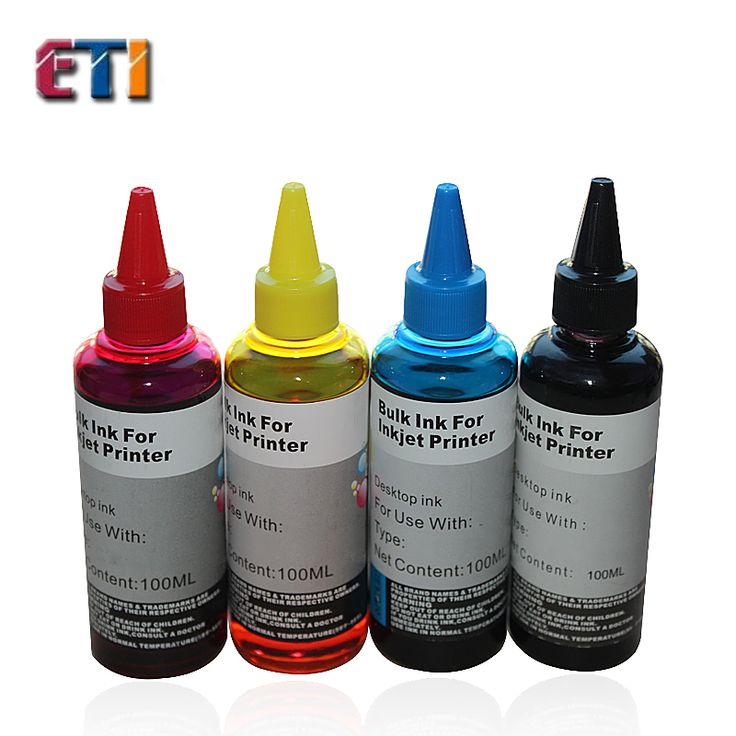4 X 100ML Ink FOR HP 2520 DESKJET 2025 2020HC filled with ink printer cartridges for HP46 black color #women, #men, #hats, #watches, #belts, #fashion, #style