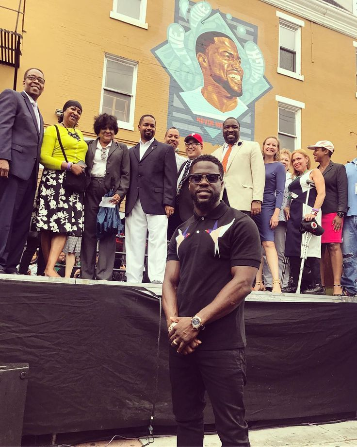 Philadelphia Celebrates Inaugural Kevin Hart Day With Mural Dedication | HuffPost