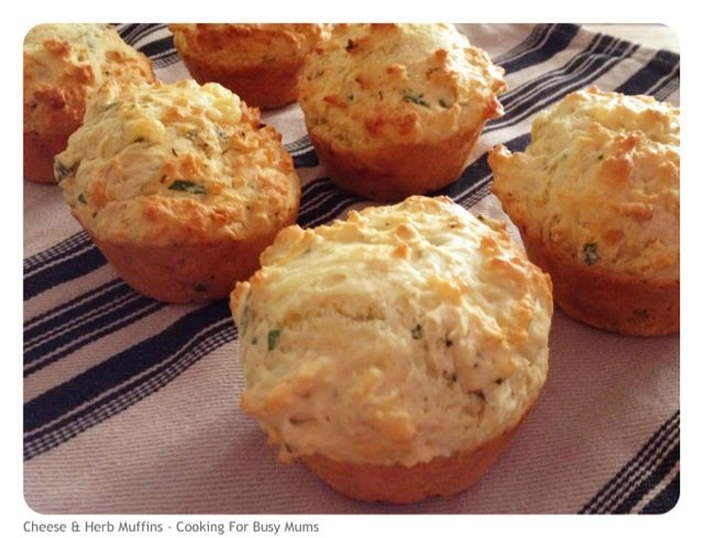CHEESE & HERB MUFFINS