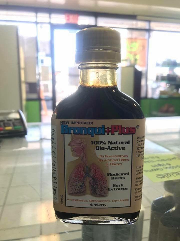 PHARMA - 🍃 Bronqui+Plus  Excelente producto diseñado para combatir, catarros, bronquitis, pulmonia, descongestiona la mucosidad excesiva,alergias, flu, irritacion de la garganta, ronqueras, anemia, aumenta las defensas del organismo, y ayuda a eliminar la nicotina en los fumadores!   Puedes encontrarlo en cualquiera de nuestras tiendas: Jarena Plaza Carolina (787)750-8533 Jarena Colobos (787)776-0404 Jarena Carolina Shopping Court (787)750-2942