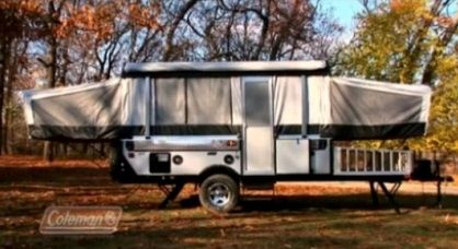 What is so great about series of Coleman pop-up camper trailers: Americana, Destiny, Evolution and Highlander.