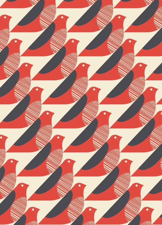 ORLA KIELY BIRDS