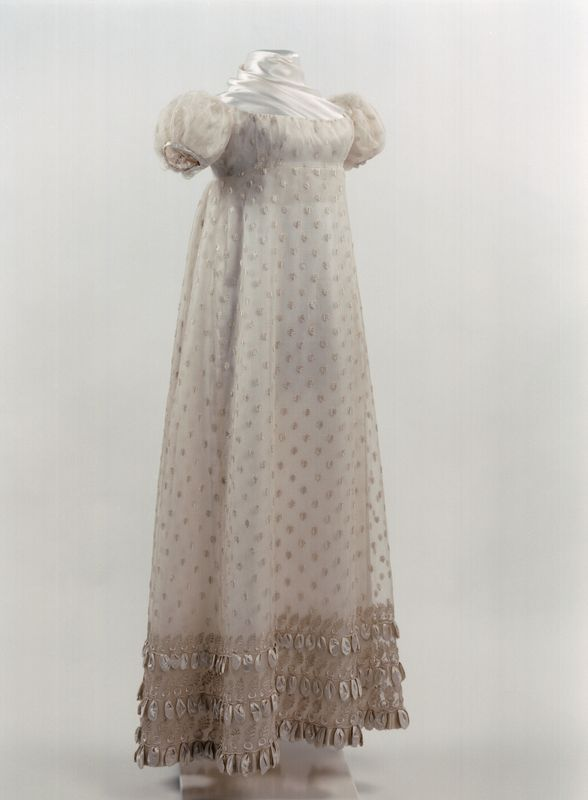 Party Dress | 1815-1820 | silk, cotton | Royal Institute for Cultural Heritage | Object #: 96640
