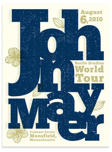 John Mayer Poster Boston   Flickr