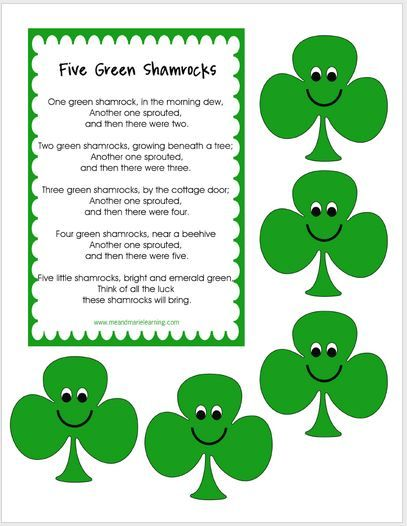 11 St. Patrick's Day Primary Printables {Free}