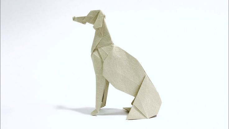 How to make an Origami Greyhound: Learn how to make a sitting Origami Greyhound from the 'stretched bird base'. I highly recommend this fold for intermediate folders. The folding sequence and results will surprise you! Check out my new book: http://ift.tt/2cwLux2 Difficulty Level: Intermediate My Paper: kami and origami-shop.com 'momigami' Paper source: http://ift.tt/2cZVFro (for Americas) or http://ift.tt/1UaJuWo (International) Website: http://ift.tt/1qIjiUE Facebook: http://ift.tt/2cwKc5c…
