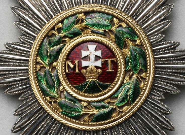 Star of the Order of Saint Stephen of Hungary. Detail Belonged to Emperor…