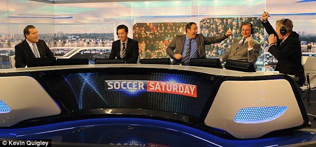 Soccer Saturday - Saturdays have a lot more purpose now that Jeff and the boys return to the box to offer a little football insight, random phrases and loads of mispronunciations.