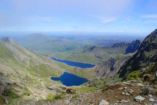 Mount Snowdon, Gwynedd.
