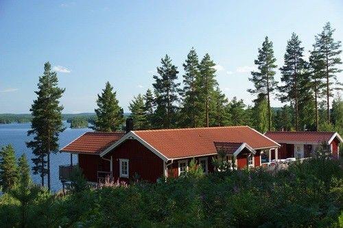 Schwedenurlaub mit Hund im Haus am See
