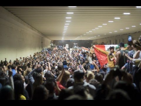 Trump wins election, UCLA students riot and protest presidential victory... Yeah, it's all fun and games until someone gets killed. Then people will be afraid to protest. Then people will be imprisoned for protesting, then.... At least the world can see here how the people of the U.S. really feel - not just the CLOSET RACISTS that voted him in.