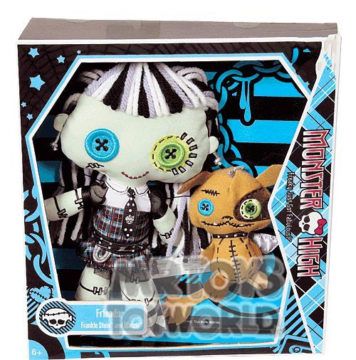 Monster High Plush - Frankie Stein & Watzit - $20