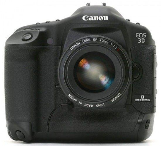A Fine Ottobre Canon EOS-3D X (46,1 MP da coccolare)