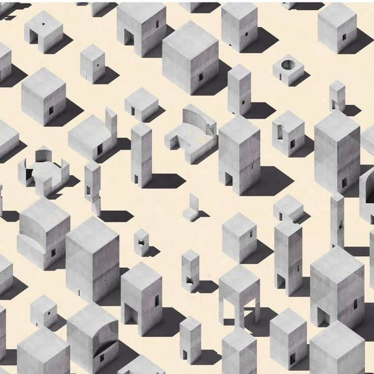 64 best arch111 exercises images on pinterest le corbusier blocks 2016 noam saragosti axo ccuart Choice Image