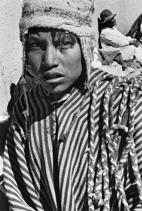 Sergio Larrain BOLIVIA. Oruro. 1958.