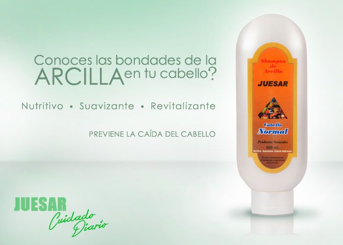 Shampoo natural Juesar