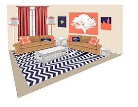 navy and coral living room 1000 ideas about navy living rooms on 18826
