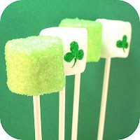 St. Patrick's Day Marshmellos: St. Patty, St. Patties, Stpatti, St. Patrick'S Day, Holidays, Stpatrick, Marshmallows Pop, St Patrick'S Day, Marshmallows Treats