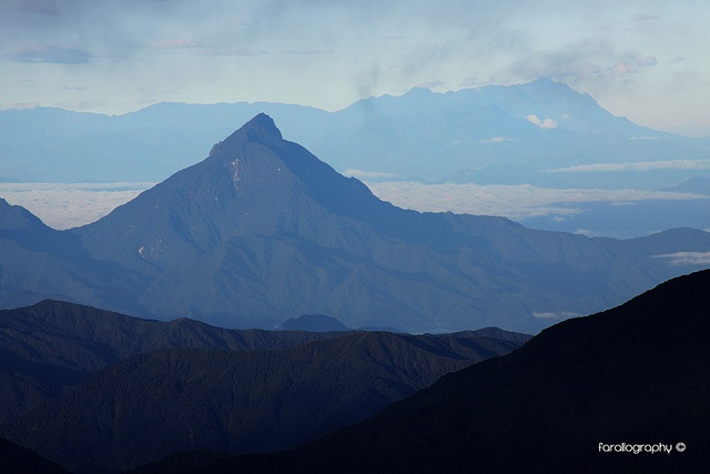 Pico Naya. PNN Los Farallones de Cali.