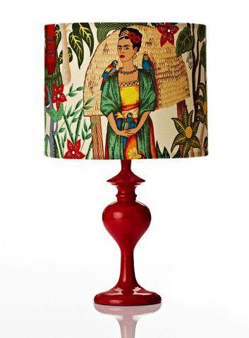 Retro Print Revival Frida Lamp #1