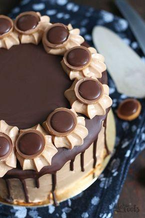 Haselnuss-Nougat-Mascarpone-Torte für einen festlichen Anlass selbstgemacht #Rezept