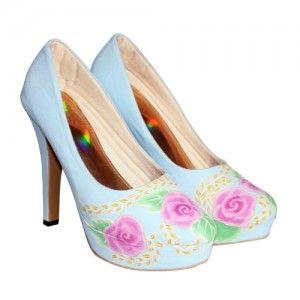 Platform Blossom Biru IDR355.000 size 36 - 41  Hubungi Customer Service kami untuk pemesanan : Phone / Whatsapp : 089624618831 Line: Slightshoes Email : order@slightshop.com