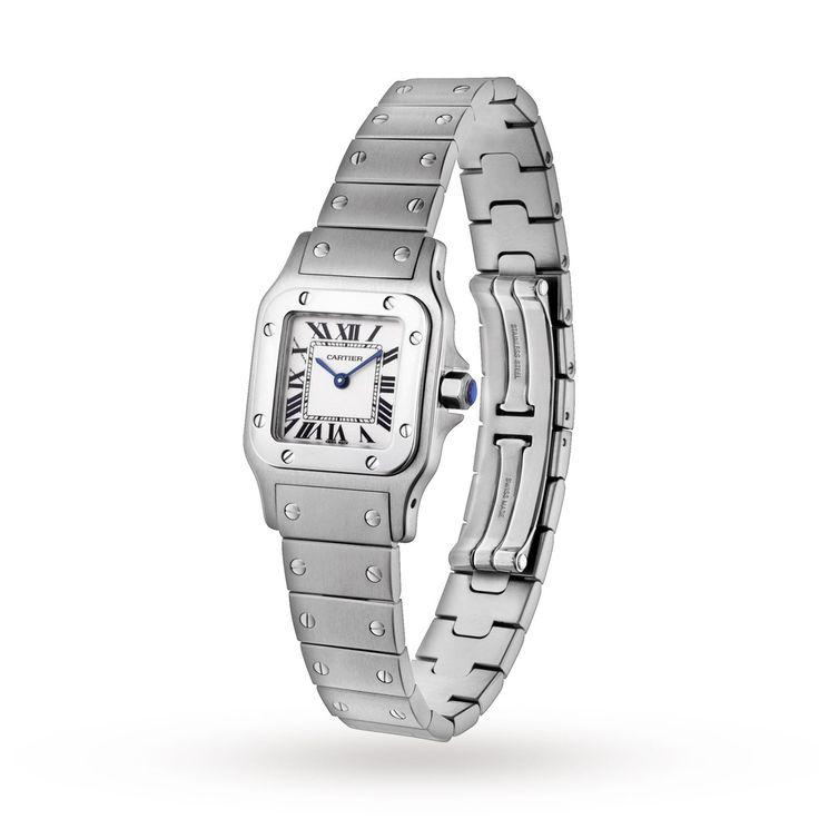 Cartier Santos de Cartier Galbée Ladies Watch | Cartier Santos | Cartier | Brands | Goldsmiths #Ladiescartierwatches