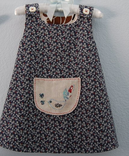 Hand Made: Embroidered Jumper Dress - droolicious