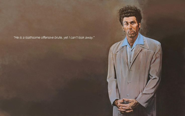 One of the best Seinfeld quotes ever! The Kramer!