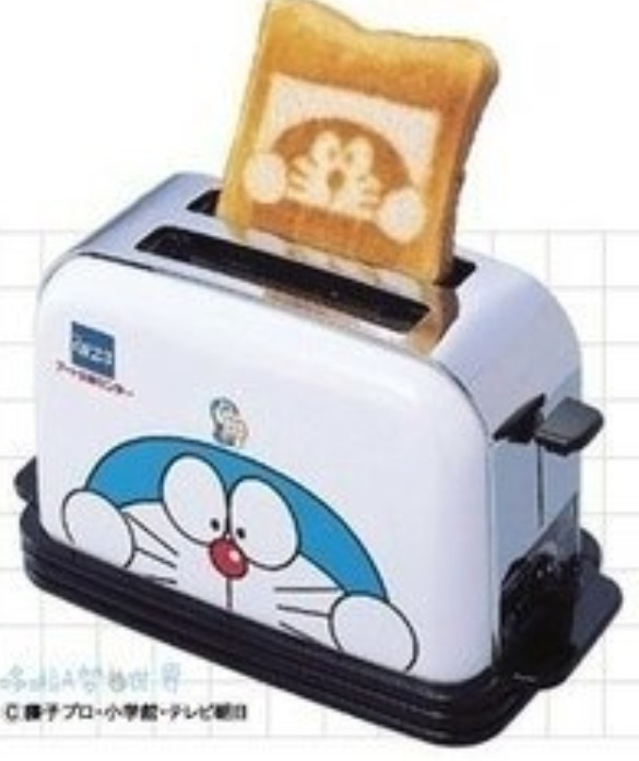 Doraemon toast✖️More Pins Like This One At FOSTERGINGER @ Pinterest✖️