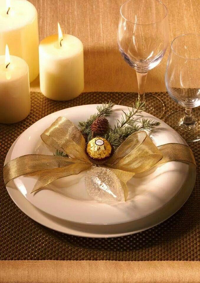 Déco de table de Noël... ...