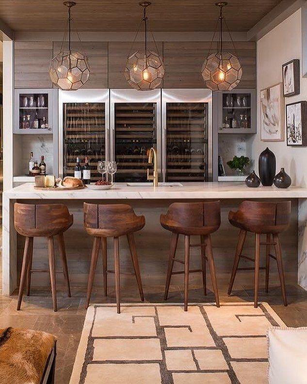 Residential Wet Bar Wine Cellar Wet Bars Game Rooms Home