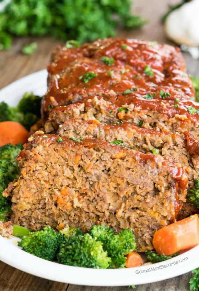 This recipe for Alton Brown's Meatloaf comes out tender, moist and delicious every time.