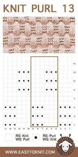 Knit Purl 13: Basketweave – Einfach zu stricken
