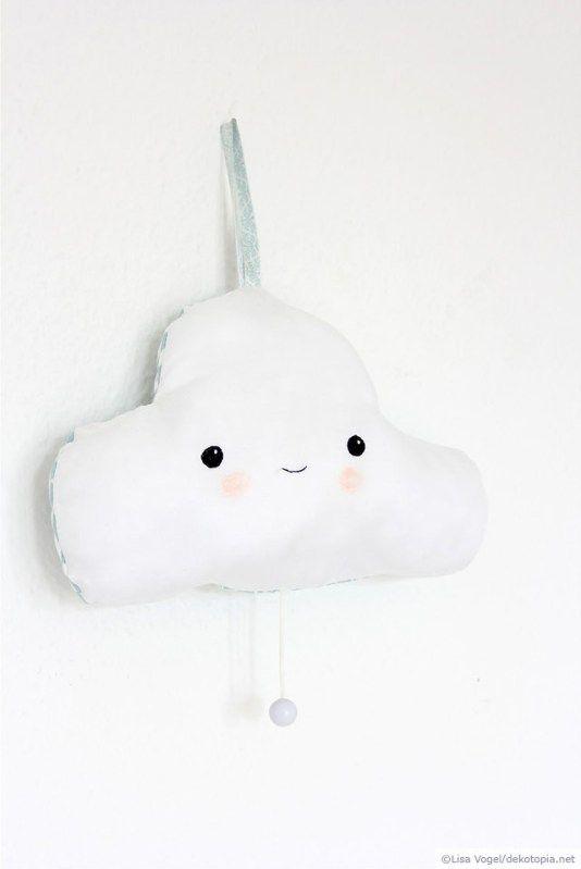 Meine kleine Wolke – Spieluhr aus Stoff | dekotopia