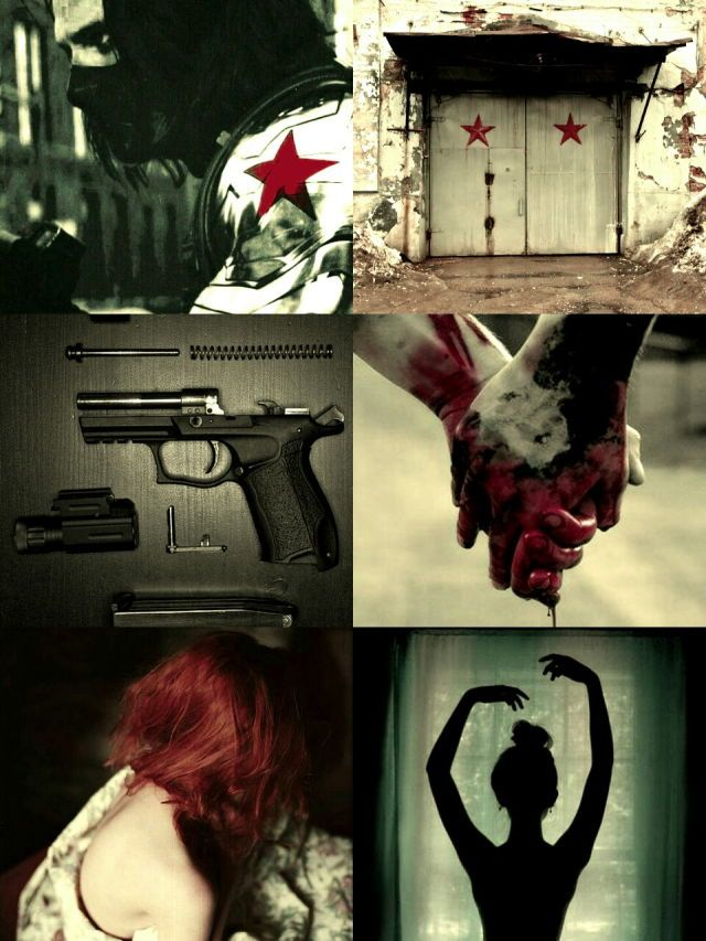 Two Russian Spy's~ Black Widow & Winter Soldier.